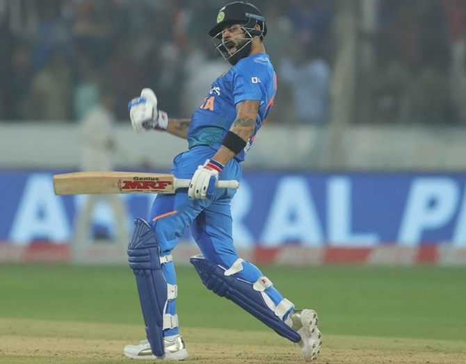 1st T20I: Captain Kohli steers India to easy victory