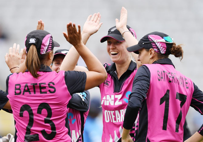 2nd T20I: New Zealand women pip India eves in last ball