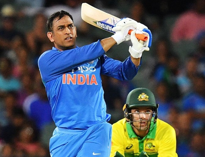 'India benefitting from Dhoni's finishing ability'