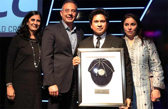 Tendulkar inducted into ICC Hall of Fame