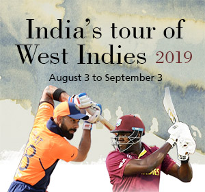 India's tour of West Indies 2019