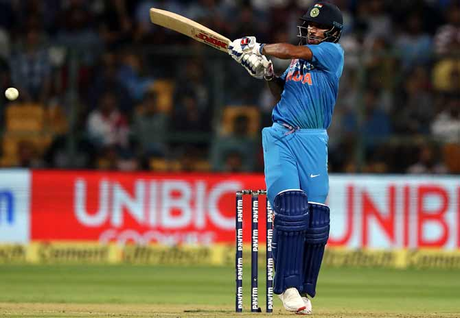 Dhawan Confident Of Good Showing At World Cup Rediff Cricket