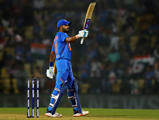 Shreyas perfect for No. 4 in ODIs, T20s: MSK Prasad