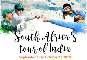 South Africa's tour of India 2019