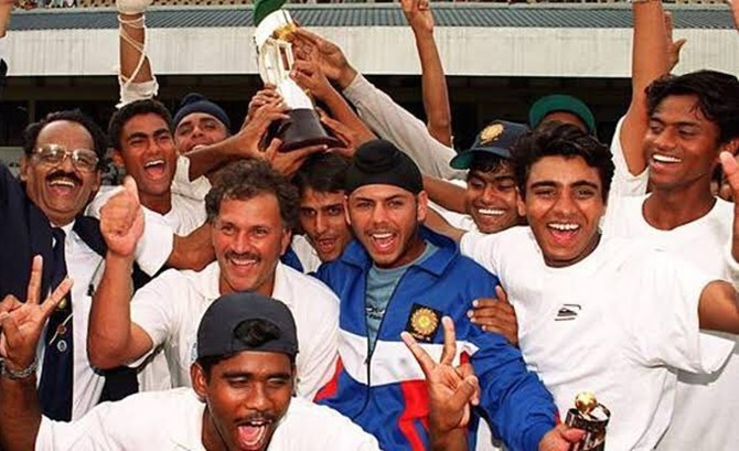 Kaif celebrates 20 years of U-19 World Cup triumph