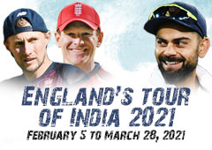 England's tour of India 2021