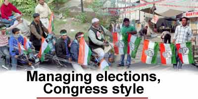 Managing Election, Congress style