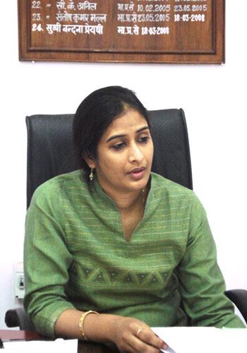 Bandana Preyashi, District Magistrate, Siwan