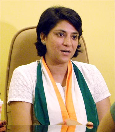 'I won the first election because of my father' :  Priya Dutt,