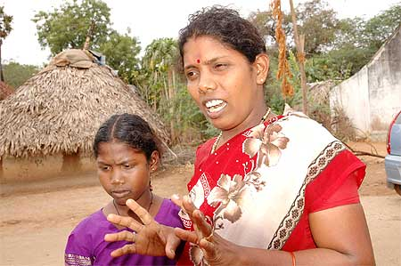 Suguna, like most of the villagers, bears the brunt of backwardness