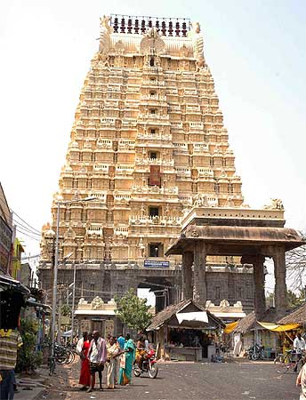 Kancheepuram is famous for its temples and silk