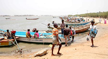 Traditionally, fishermen support the AIADMK