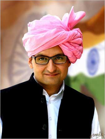 Deepender Singh, 31, the MP from Rohtak won by a mammoth 400,000 plus votes