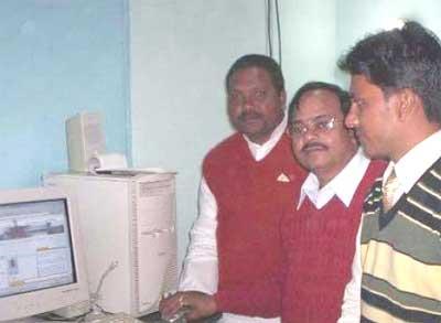 (Extreme Left) Pradeep Kumar Singh