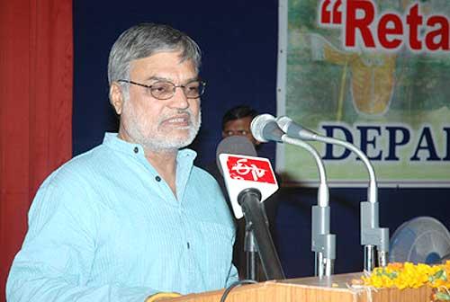 Railway Minister CP Joshi