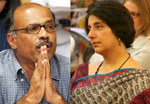 Meera Sanyal and Captain Gopinath