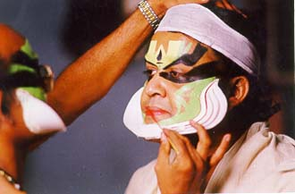 Mohanlal getting ready for his role in Vaanaprastham