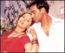 Madhuri Dixit and Ajay Devgan in Yeh Raaste Hain Pyaar Ke