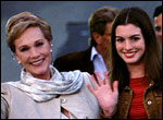 Julie Andrews and Anne Hathway in The Princess Diaries