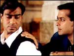 Ajay Devgan and Salman Khan in Hum Dil De Chuke Sanam
