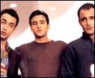 Aamir Khan, Saif Ali Khan and Akshaye Khanna in Dil Chahta Hai