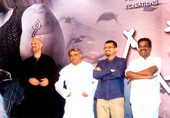Loy, Javed Akhtar, Ehsaan and Producer Thanu