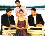 Priyanshu, Rakesh, Himanshu and Sandali Sinha in Tum Bin
