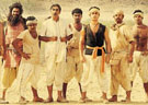 Lagaan: Aamir Khan with his team