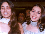 Kareena with sister Karisma Kapoor