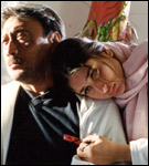 Kareena Kapoor with Jackie Shroof in Yaadein