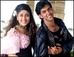 Kareena Kapoor and Hrithik Roshan in Yaadein