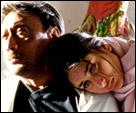 Jackie Shroff and Kareena Kapoor in Yaadein