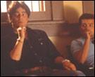 Benicio Del Toro and Jacob Vargas in Traffic