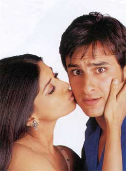 Sonali Bendre and Saif Ali Khan