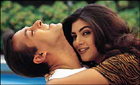 Sushmita and Salman Khan in Biwi No 1