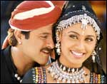 Anil Kapoor and Rani Mukherji in Nayak