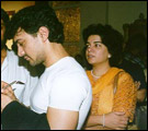 Aamir and Reena
