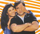 Sushmita and Govinda in Kyonki...