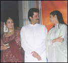 Members of the cast of Om Jai Jagdish