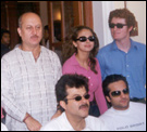 Cast and crew of Om Jai Jagdish