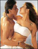SRK and Kareena in Asoka