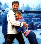 Bobby and Kareena in Ajnabee