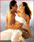 Shah Rukh Khan and Kareena Kapoor in Asoka