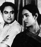 Ashok Kumar and Nutan in Bandini