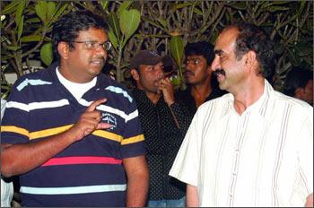 Ram Mohan and Suresh Babu