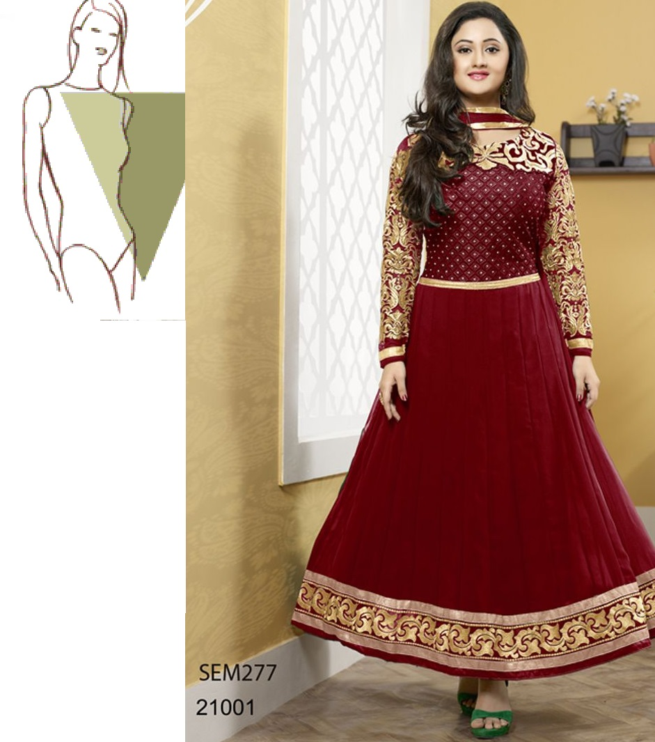 ab7153a8fb9d 5 Anarkali Suits That Matches Your Body Type Perfectly - Latest ...