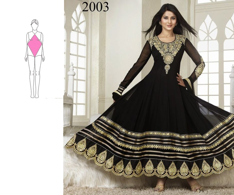 5 Anarkali Suits That Matches Your Body Type Perfectly ...