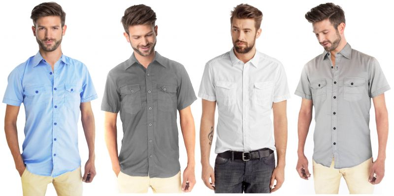 Men business casual clothing