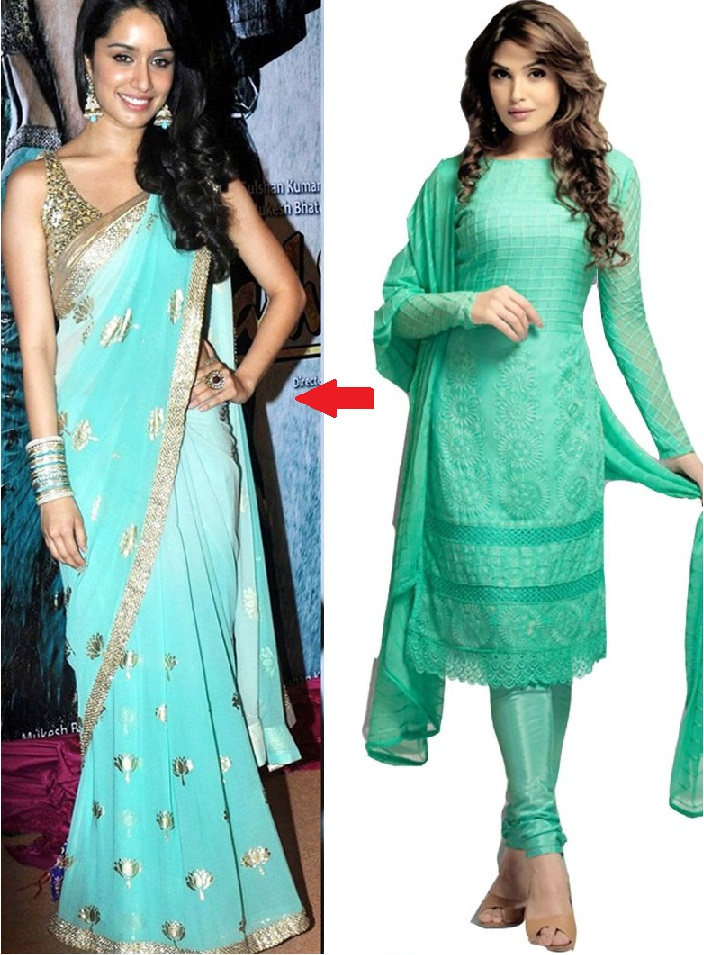 Shraddha Kapoor Wearing the Pastels Color