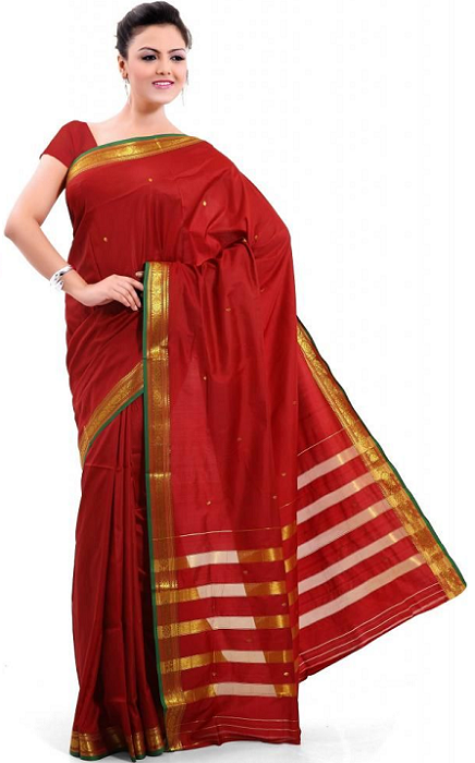how to wear saree to look slim video